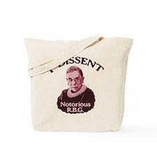 Notorious RBG -p Tote Bag