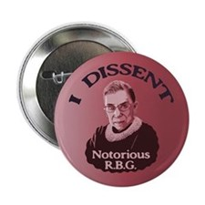 "Notorious RBG -p 2.25"" Button"