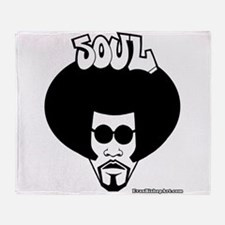 Soul Brother Throw Blanket
