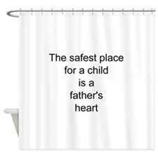 A father's heart Shower Curtain