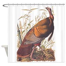 Audubon Wild Turkey Shower Curtain