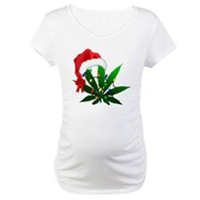 Weed Holiday Tree Shirt