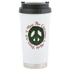 Cute World peace Travel Mug