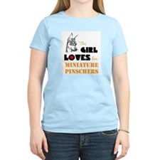 Girl Loves her Min Pins T-Shirt
