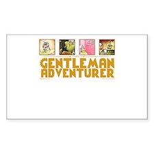 Gentleman Adventurer Decal