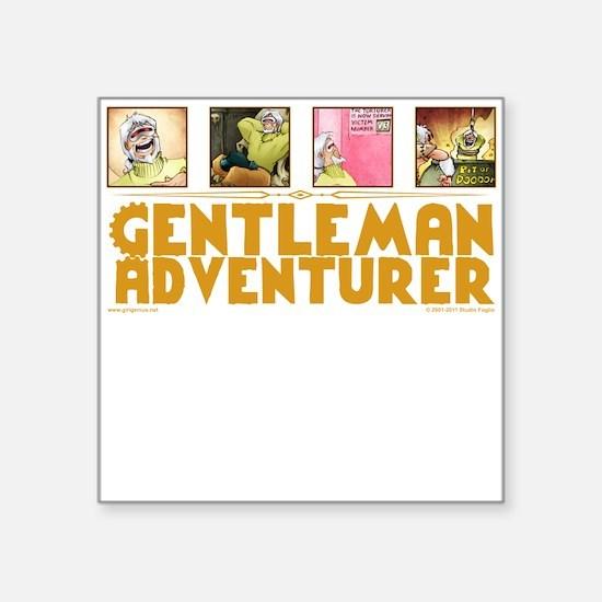 Gentleman Adventurer Sticker