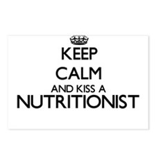 Keep calm and kiss a Nutr Postcards (Package of 8)
