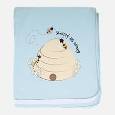 Sweet As Honey baby blanket