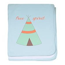Free Spirit baby blanket