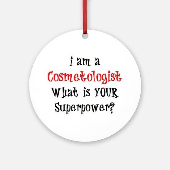 cosmetologist Ornament (Round)