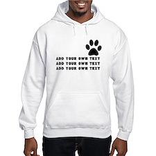 Dog's paw Hoodie