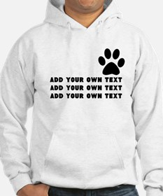 Dog's paw Jumper Hoody