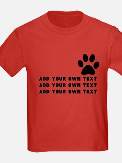 Dog's paw T