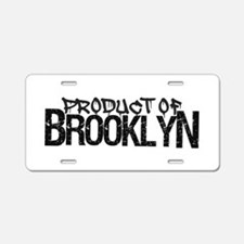 Product of Brooklyn Aluminum License Plate
