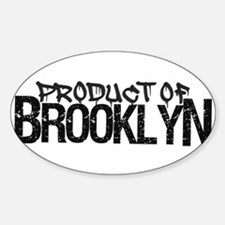 Product of Brooklyn Decal