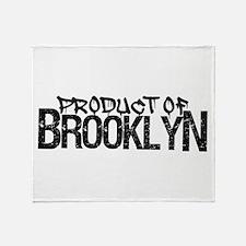 Product of Brooklyn Throw Blanket