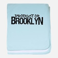 Product of Brooklyn baby blanket