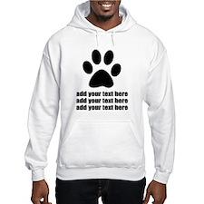 Dog's paw Jumper Hoodie