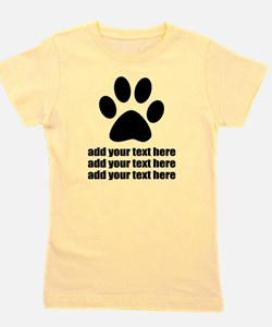 Dog's paw Girl's Tee