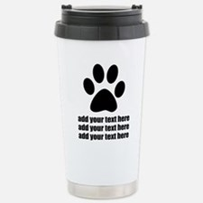 Dog's paw Travel Mug