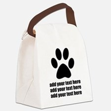 Dog's paw Canvas Lunch Bag