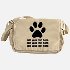 Dog's paw Messenger Bag