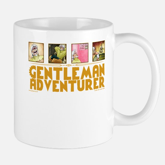 Gentleman Adventurer Mugs