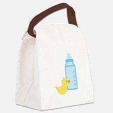 Bottle Duck Canvas Lunch Bag