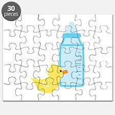 Bottle Duck Puzzle