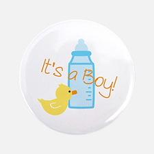"Its a Boy 3.5"" Button"