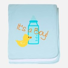 Its a Boy baby blanket