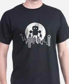 Robot Skyline T-Shirt