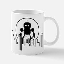 Robot Skyline Mugs