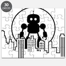 Robot Skyline Puzzle
