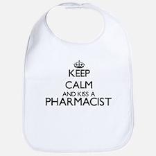 Keep calm and kiss a Pharmacist Bib