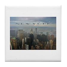 Unique New york city skyline Tile Coaster