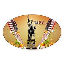 USA Statue of Liberty Decal