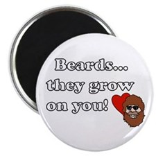 Resden Beard Humor Magnet