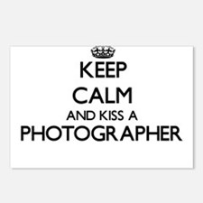 Keep calm and kiss a Phot Postcards (Package of 8)