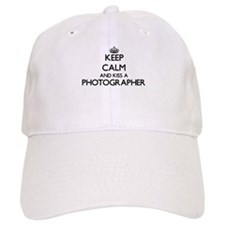 Keep calm and kiss a Photographer Baseball Cap