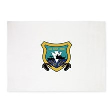 ATF-83 USS Chick Asaw Military Patc 5'x7'Area Rug