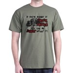A Truck Driver Like My Aunt Dark T-Shirt