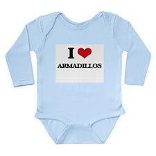 I love Armadillos Body Suit