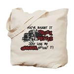 A Truck Driver Like My Grandpa Tote Bag