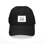 lucky cowboy horsshoe Black Cap