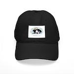 blue eyed boston terrier angel Black Cap