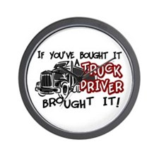 A Truck Driver Brought It Wall Clock