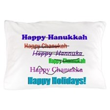 happyhanukkah.png Pillow Case