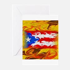 PR Flag Greeting Cards (Pk of 10)