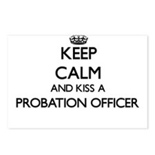 Keep calm and kiss a Prob Postcards (Package of 8)